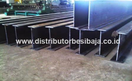 Jual Baja WF Beam Standar JIS G3101 SS400 HotRolled Material KS